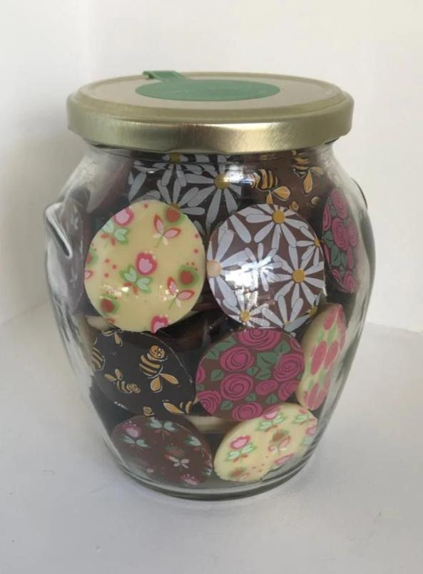 Giant Mix Jar flowers/butterflies/bees (400g)