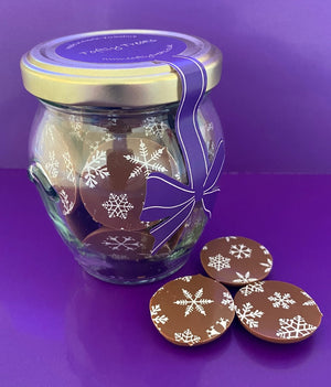 Snowflakes (Milk chocolate)