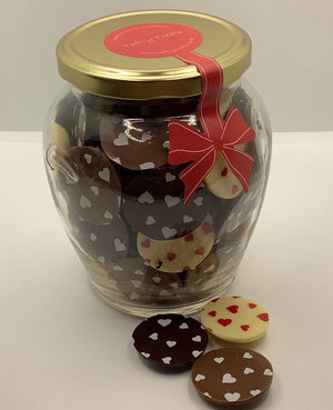 Giant Mix Jar Hearts (400g)
