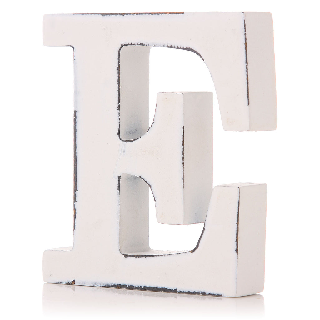 Decorative Letter 'E'