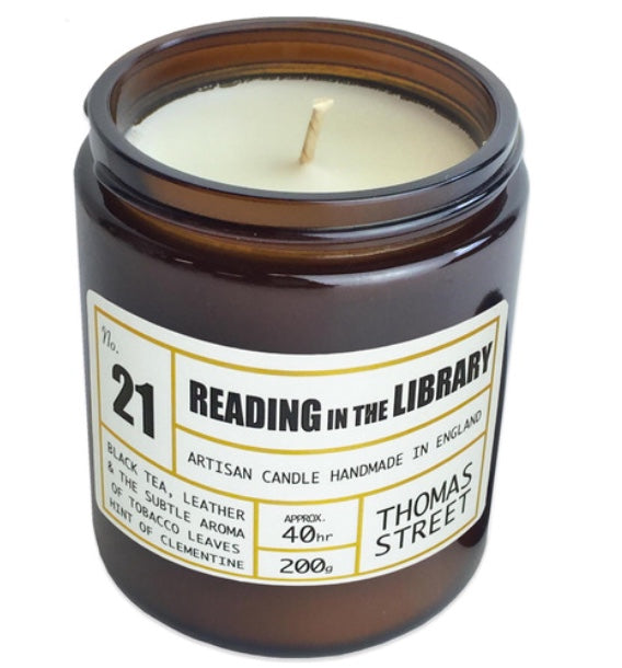 Thomas Street Apothecary | Reading in the Library Candle