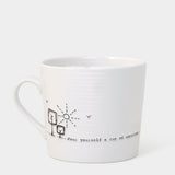 East Of India | Cup Of Ambition Wobbly Boxed Mug