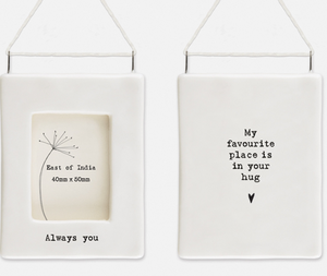 East of India | My Favourite Place mini hanging frame