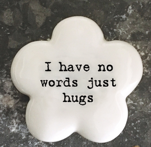 East of India | Just hugs flower token