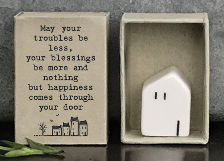 East of India | May your troubles Matchbox House