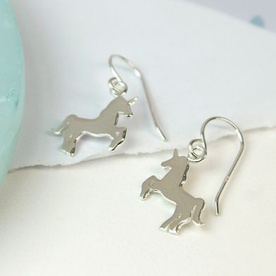 Peace Of Mind | Unicorn Drop Earrings