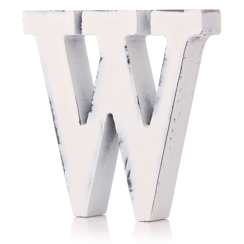 Decorative Letter 'W'
