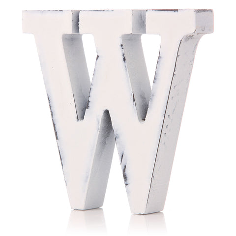 Letter 'W'