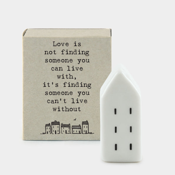 East Of India | Love Is Not Matchbox House
