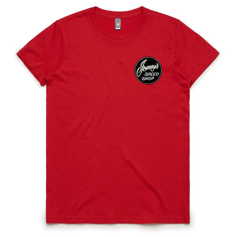 Women's JSS Red Tee #1