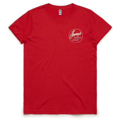 Women's JSS Red Tee #2