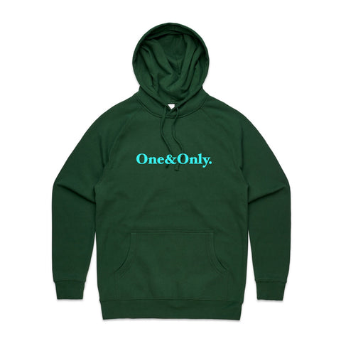 ONE&ONLY. Arctic/Forest Green
