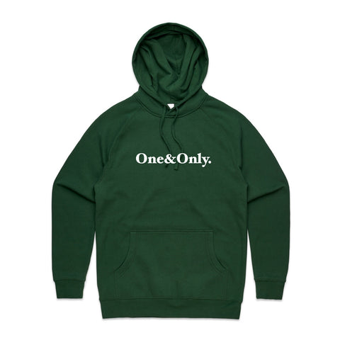 ONE&ONLY. White/Forest Green