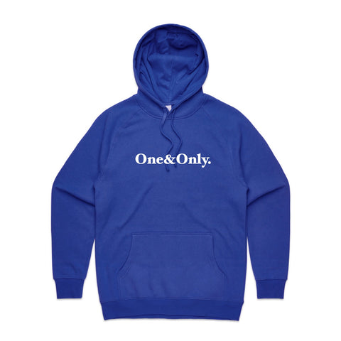 ONE&ONLY. White/Royal Blue
