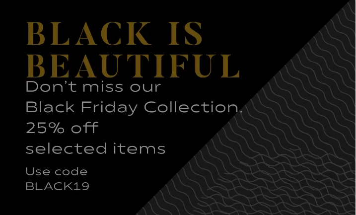 Black Friday Collection 2019...