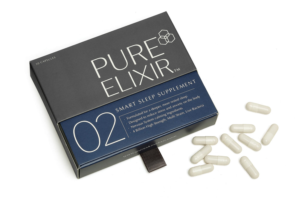 Pure Elixir 02 SMART Sleep Supplement - NOW WITH 5-htp!