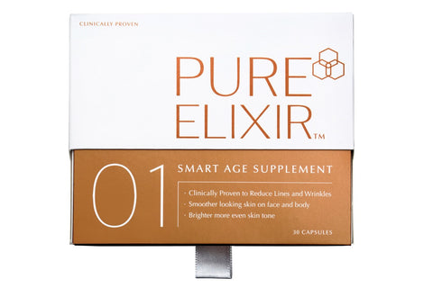 Antiaging skincare routine, anti-aging skincare, skincare ingredients, antiaging skincare supplements, supplements for antiaging, supplements for youthful skin, Pure Elixir