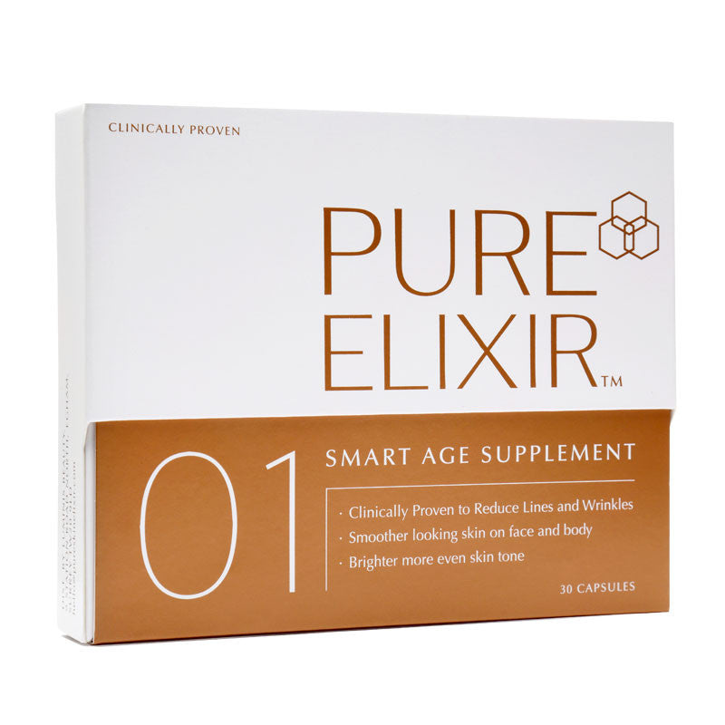 Pure Skin Elixir 01 SMART Age Supplement - Voted Best Collagen Supplement by The Goodhousekeeping Institiute