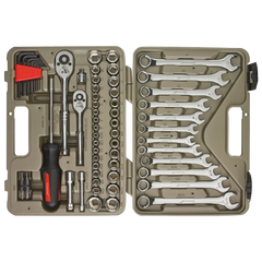 Crescent CTK70MP 70-Piece Mechanics Tool Set with Storage Case