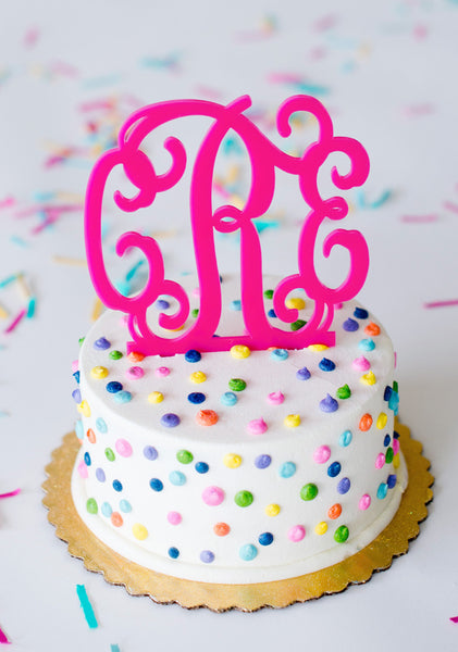 monogram wedding cake toppers cheap acrylic monogram cake topper bb s boutique 5999