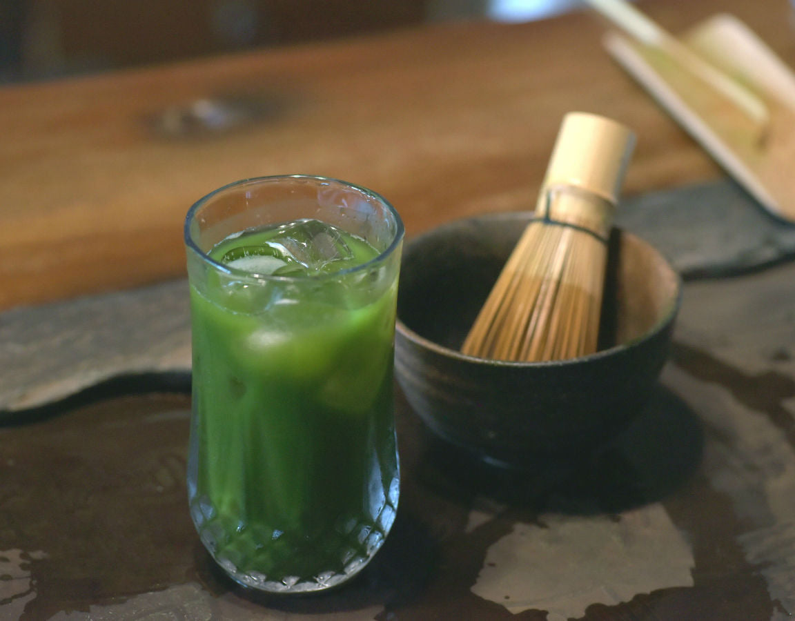Matcha Cocktail SpeakLow