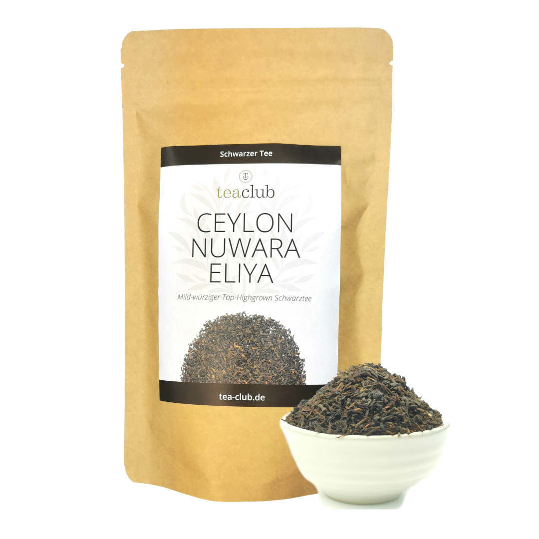 Ceylon Nuwara Eliya Schwarzer Tee Top Highgrown
