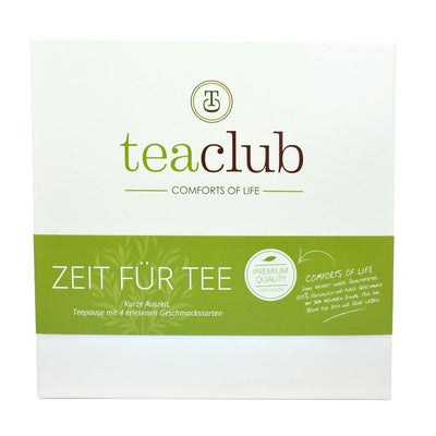 Tee-Geschenkbox Delicious Black