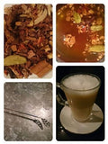 Winter Cocoa infusion collage