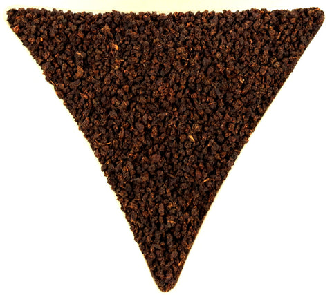 Assam Belseri Estate CTC Organic Fair Trade UTZ Loose Leaf Black Tea Gently Stirred