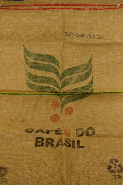 Hessian Coffee Sack From Brazil Previously Held Green Beans Many Uses