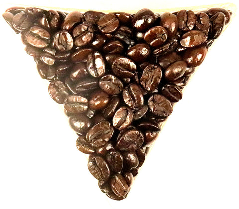 Brazilian Decaffeinated MC Whole Bean Coffee Gently Stirred