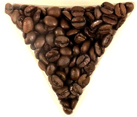 Brazilian Samba Natural Whole Coffee Beans Medium Roast Gently Stirred