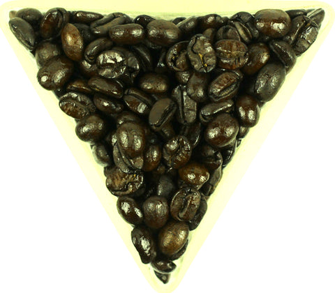 Burmese Myanmar Catuai Dark Roast Whole Coffee Beans Gently Stirred