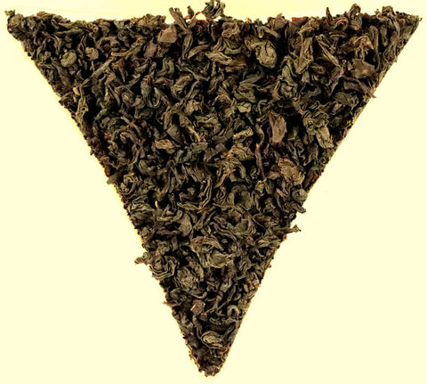 Ceylon Ruhana District Pekoe Low Grown Loose Leaf Black Tea Gently Stirred