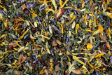 Chill Out Lavender Loose Leaf Herbal Tea Gently Stirred