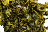 Gunpowder - Hand Rolled - Chinese Loose Leaf Green Tea - Explode Some Healthy Living - Gently Stirred