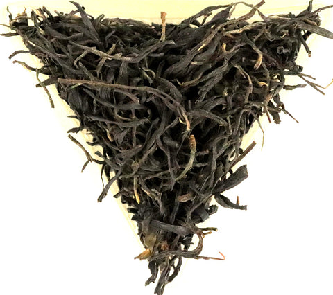 Chinese Purple Tea Loose Leaf Healthy Anthocyanin Antioxidant Free Radical Gently Stirred