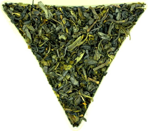 Chun Mee Moon Palace Best Quality Traditional Eyebrow Tea Green Loose Leaf Tea Very Healthy Gently Stirred
