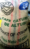 Colombian Granja La Esperanza Caturra De Altura Whole Beans Coffee Gently Stirred
