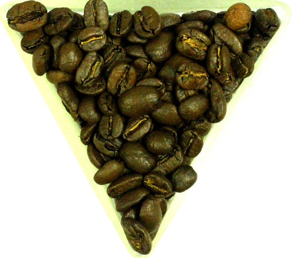Colombian Las Margaritas Pacamara Honey Medium Roast Coffee Beans Gently Stirred