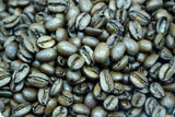 Costa Rica Volcan Azul Red Honey Geisha Coffee Beans Gently Stirred