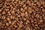 Costa Rica Volcan Azul Red Honey Process Whole Coffee Beans Gently Stirred