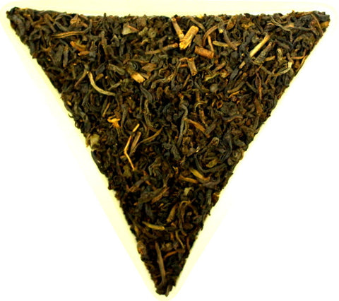 Decaffinated Extra Special Blend Loose Leaf Black Tea Gently Stirred