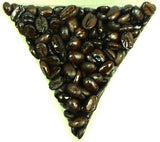 Dominican Republic Washed Barahona A Grade Dark Roast Whole Bean Coffee Gently Stirred