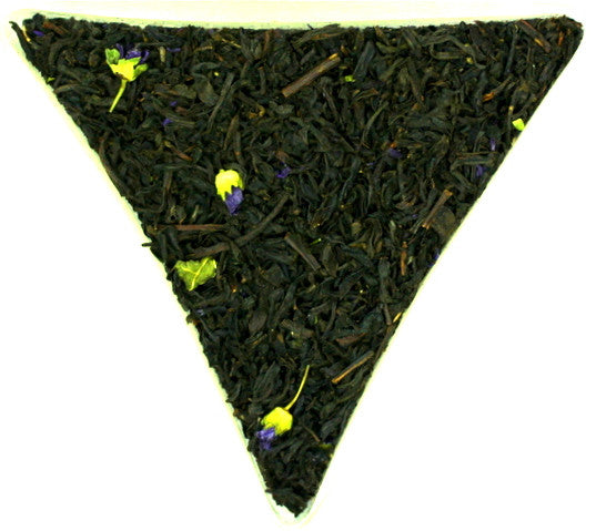 Earl Grey Blue Lady Citrus Special Loose Leaf Black Tea Gently Stirred