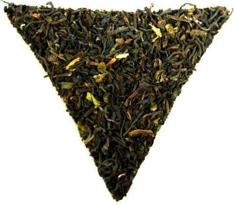 Earl Grey Superior Loose Leaf Black Tea Gently Stirred