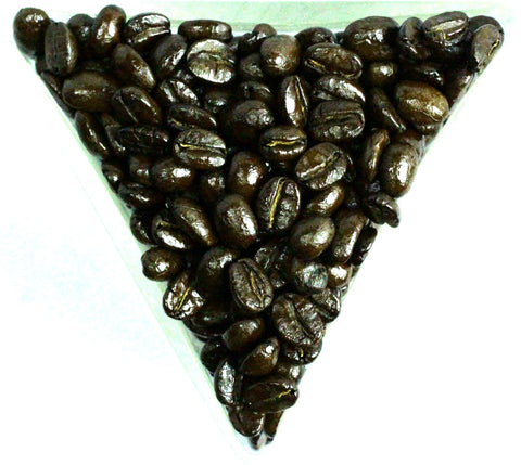 El Salvador Las Lajas Co-Operative Rainforest Alliance Coffee Beans Gently Stirred
