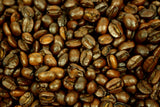 Irish Cream Flavoured Whole Coffee Beans Gently Stirred