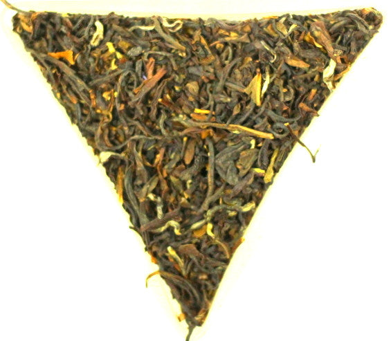 Formosa Oolong Black Dragon Loose Leaf Tea Gently Stirred