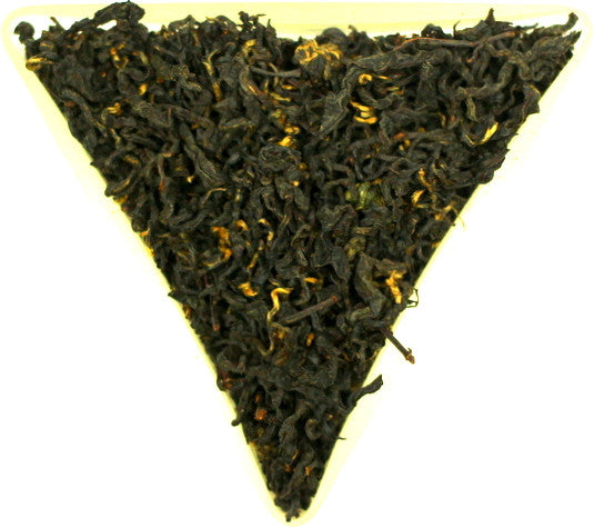 Formosa Honey Black Loose Leaf Organic Tea Gently Stirred
